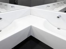 Ondrej Nepela's Stadium Bratislava - wash counters