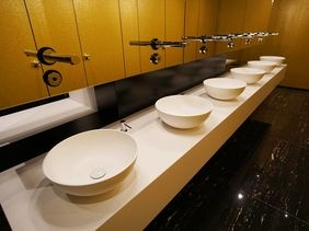 Hotel President Prague - phase II, toilets
