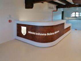"""Bozena Nemcova Municipal Library / Cultural Center """"Domazlice Brewery"""""""