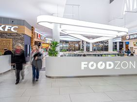Galerie Teplice - Shopping Centre / Foodzone