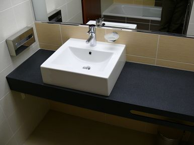 Hotel International Brno - wash counters