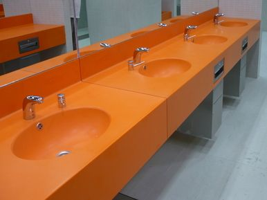 Avion Shopping Park Brno - wash counters
