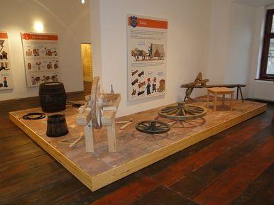 """Municipal Cultural Center Třebíč Exposition """"Cesty časem"""""""