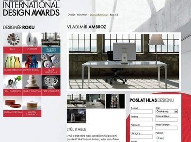ELLE DECOR INTERNATIONAL DESIGN AWARDS