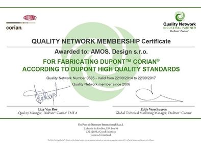 Quality Network Membership Certificate