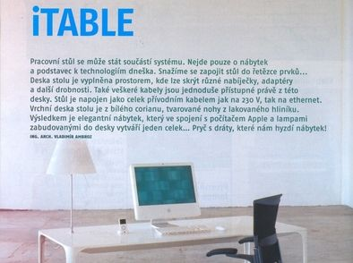 DESIGN & HOME: iTABLE